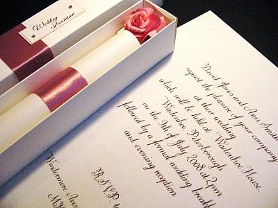 結婚式の招待状63