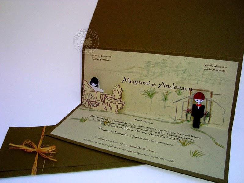 結婚式の招待状9
