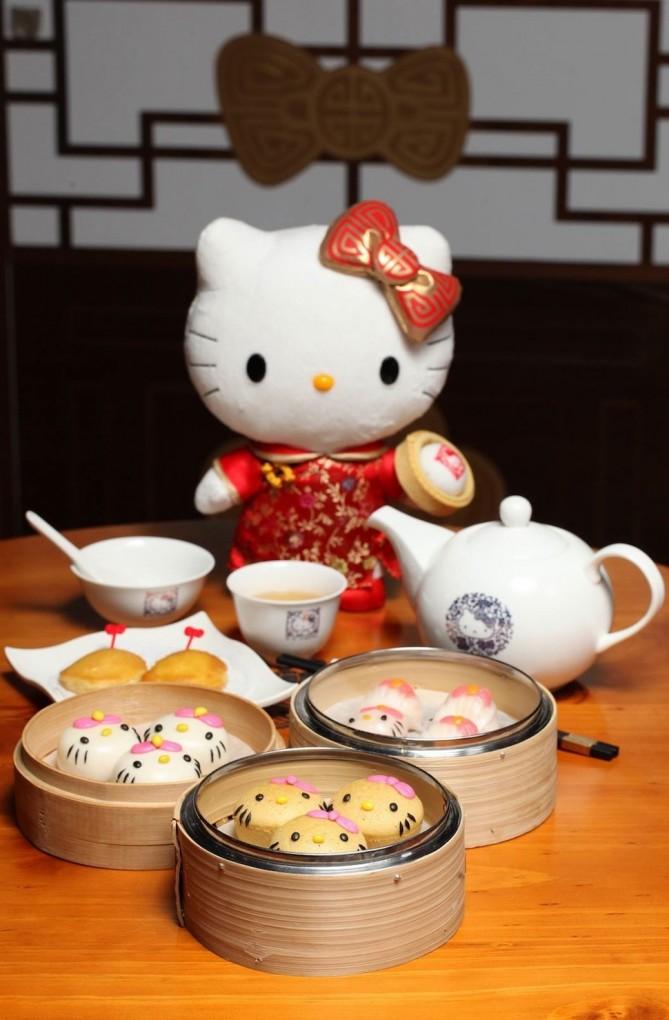 キティさんが、中国でお店を出していた1