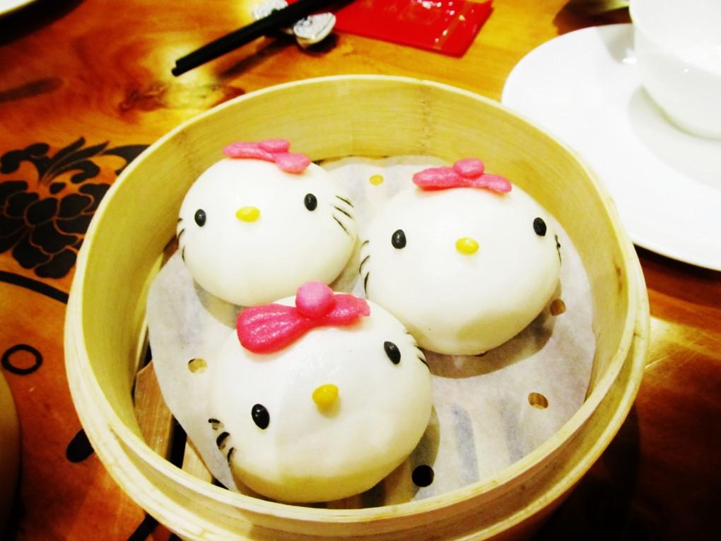 キティさんが、中国でお店を出していた3