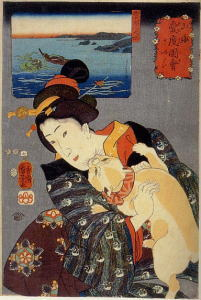猫の浮世絵1