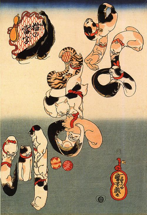 猫の浮世絵15