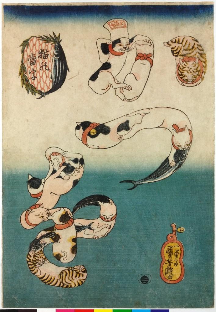 猫の浮世絵18