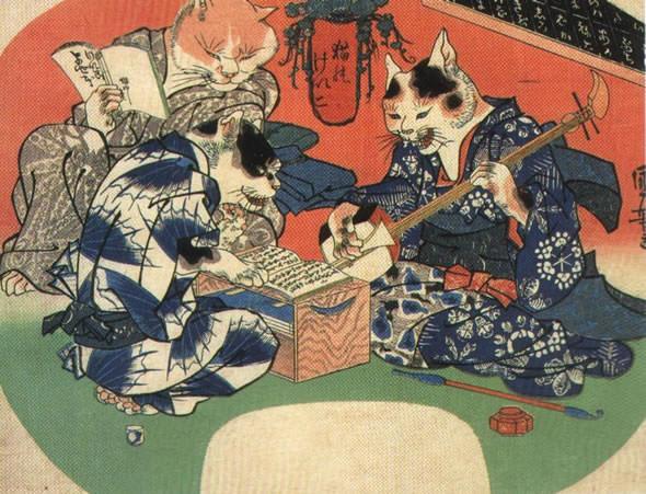 猫の浮世絵20