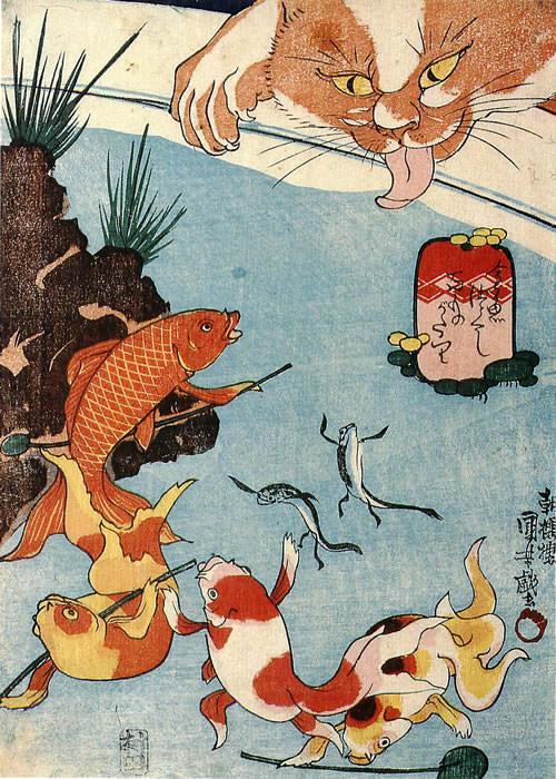 猫の浮世絵23
