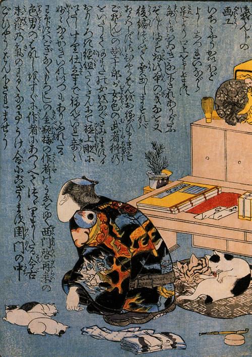 猫の浮世絵24
