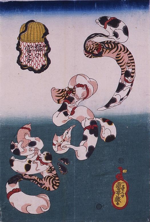 猫の浮世絵35