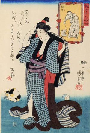 猫の浮世絵36