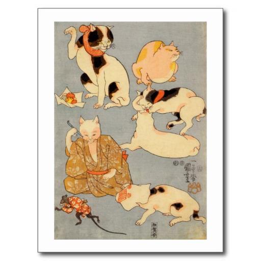 猫の浮世絵45