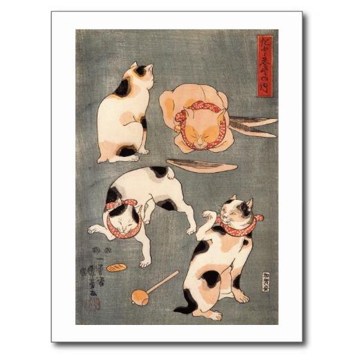 猫の浮世絵46