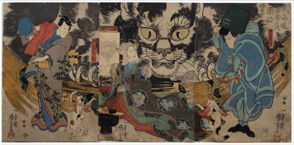 猫の浮世絵50