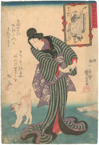 猫の浮世絵8
