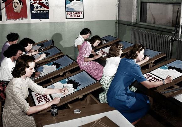 世界の歴史的モノクロ写真をカラー化2-18