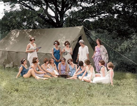 世界の歴史的モノクロ写真をカラー化2-28