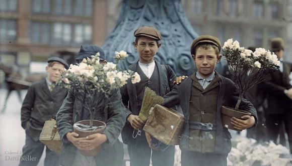 世界の歴史的モノクロ写真をカラー化2-40
