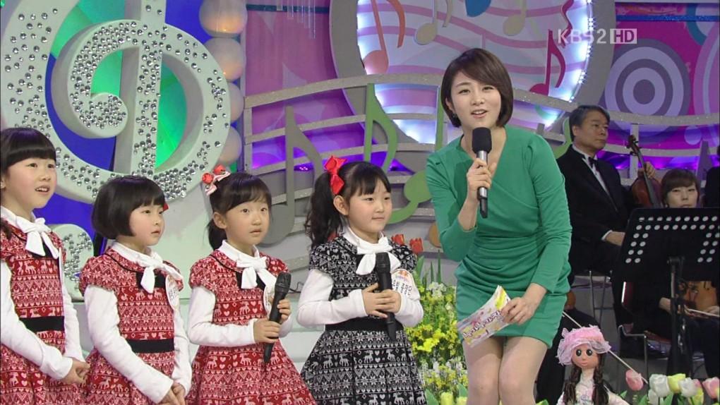 韓国の女子アナのスタイルがよかった.13