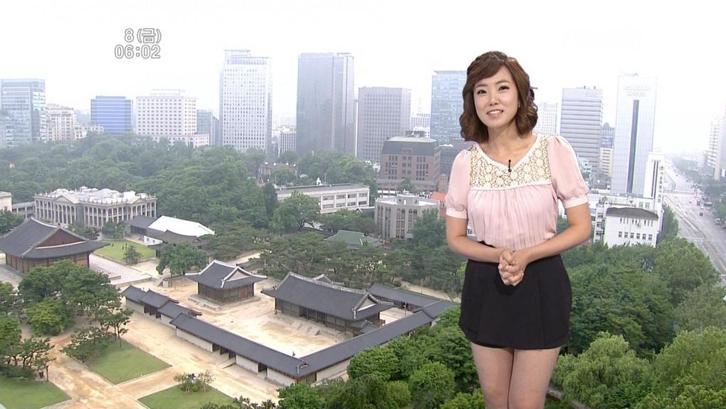 韓国の女子アナのスタイルがよかった.17