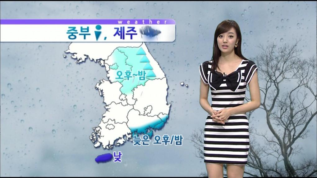 韓国の女子アナのスタイルがよかった.25