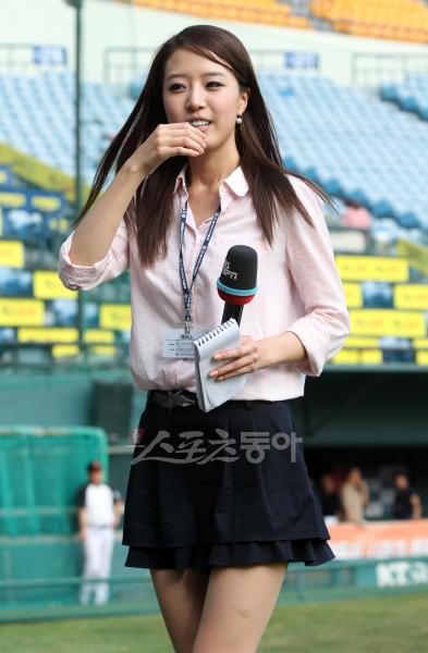 韓国の女子アナのスタイルがよかった.30