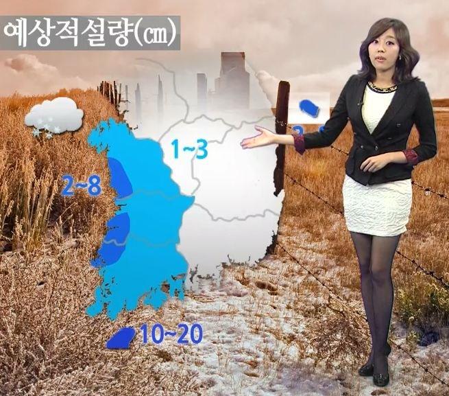 韓国の女子アナのスタイルがよかった.34