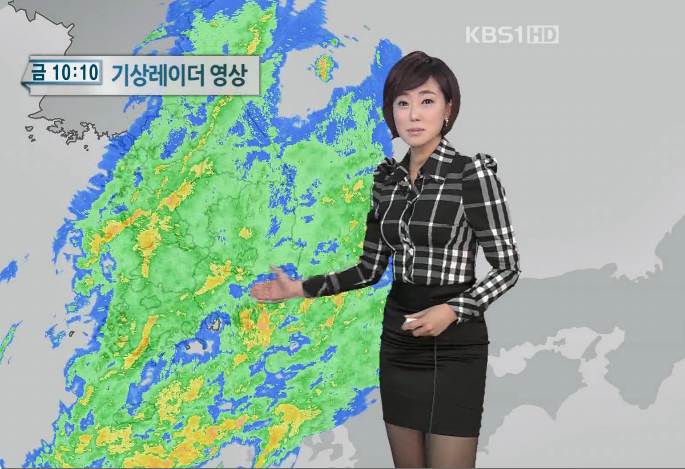 韓国の女子アナのスタイルがよかった.4