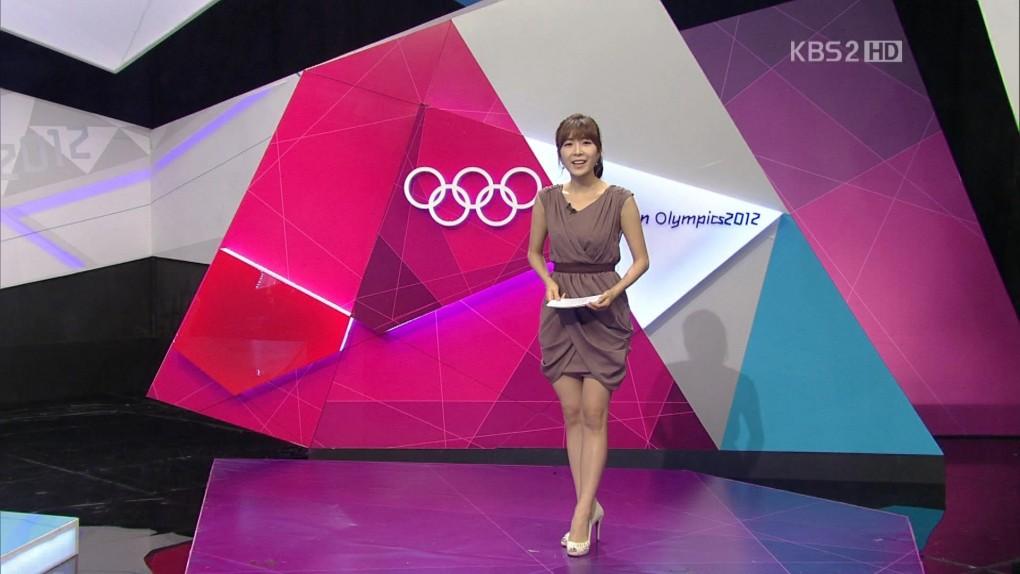 韓国の女子アナのスタイルがよかった.40