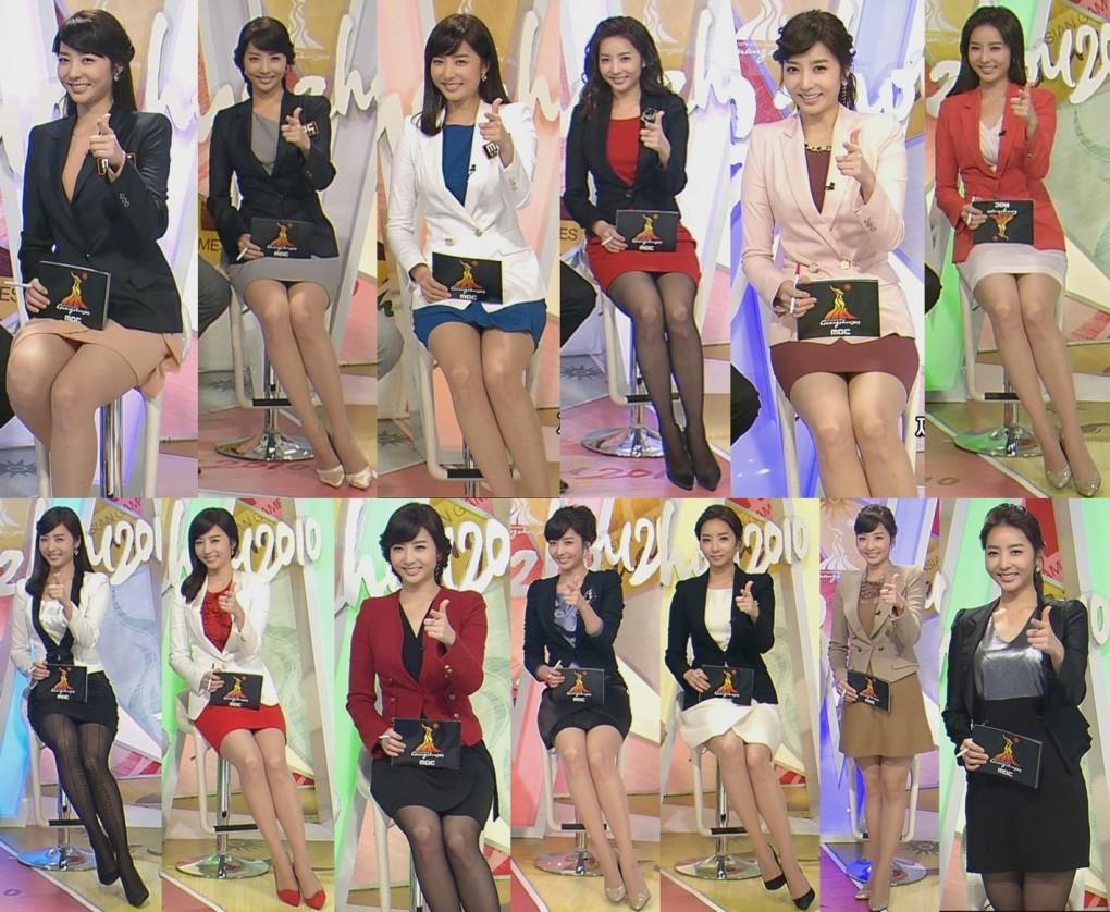 韓国の女子アナのスタイルがよかった.49