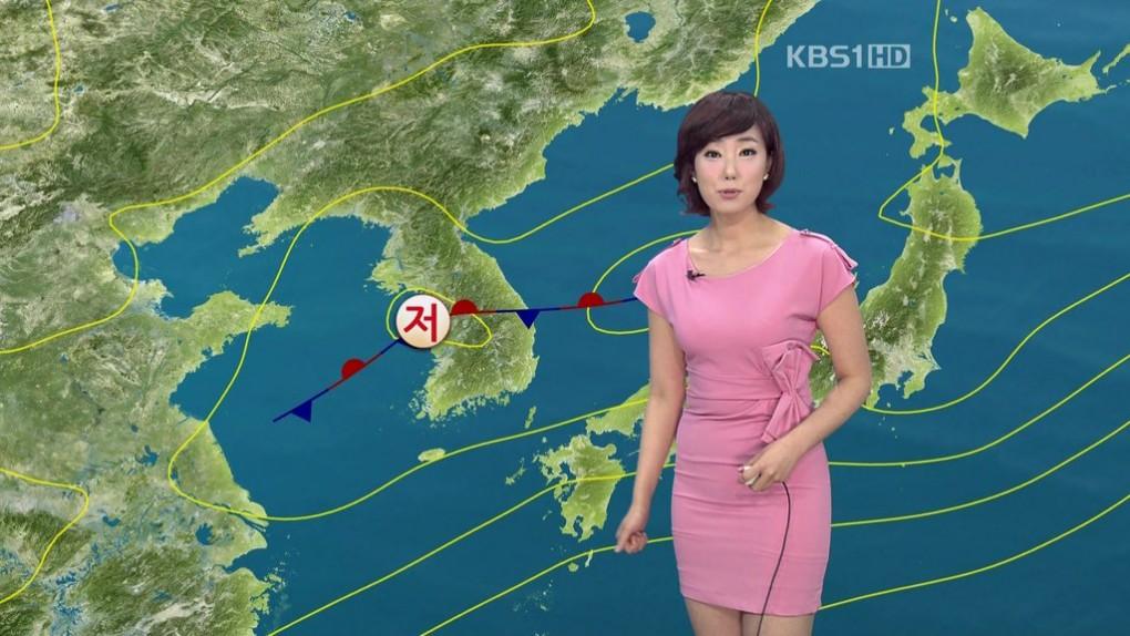 韓国の女子アナのスタイルがよかった.8