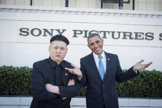 オバマさんと金正恩さんのツーショット6