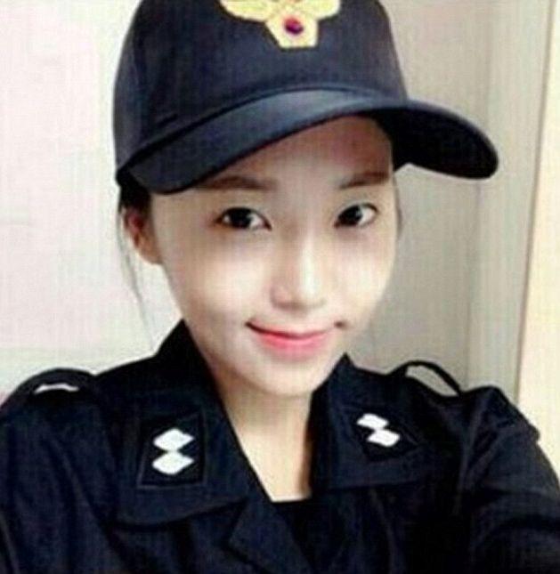 韓国で最も美しい女性警察官9