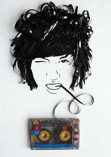 カセットテープアート21