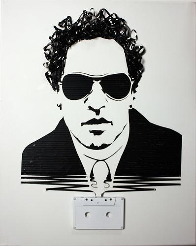 カセットテープアート7