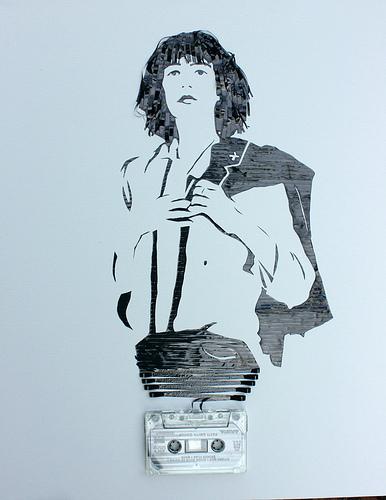 カセットテープアート8