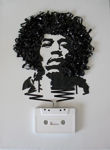 カセットテープアート9