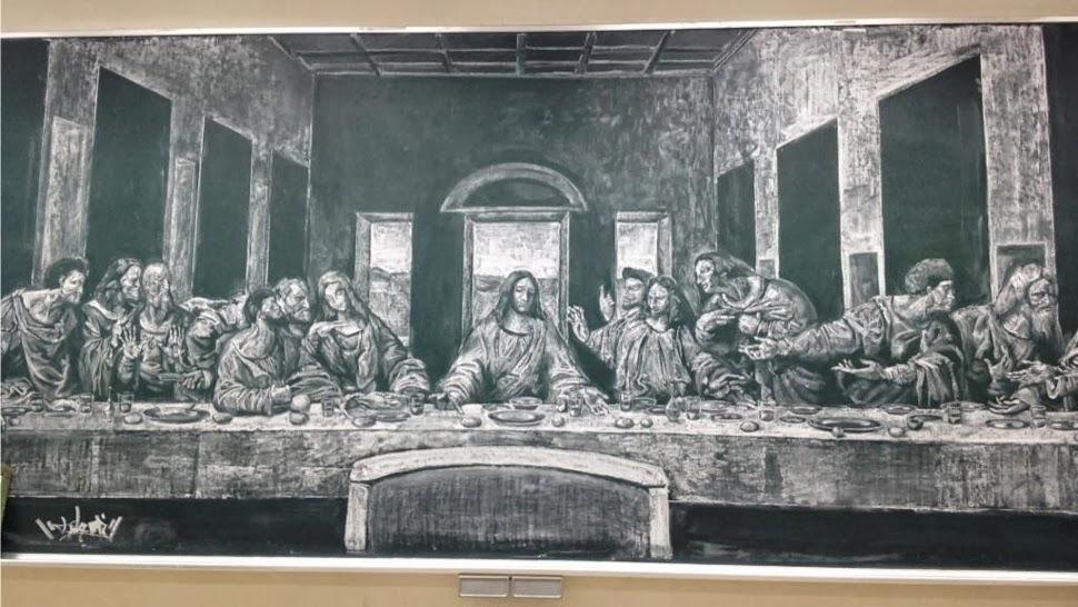 黒板アート14