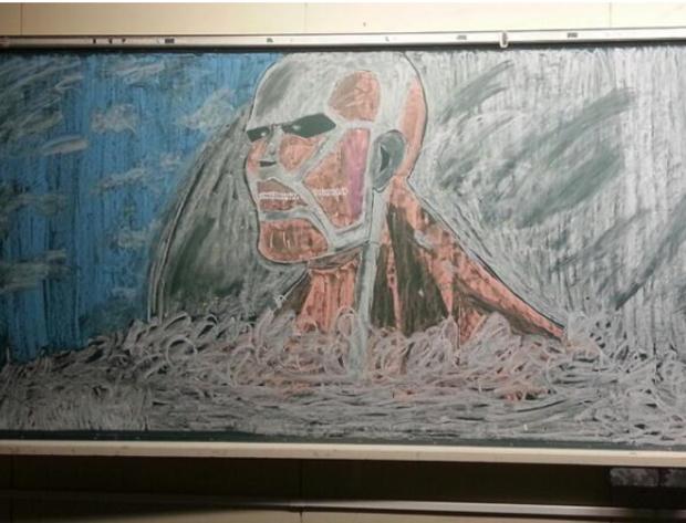 黒板アート16