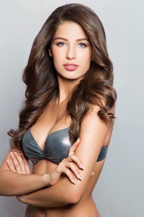ロシアで最も美しい女性1